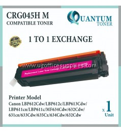 Canon 045 / 045H Cartridge 045 / Cartridge 045H M / CRG 045H Magenta High Quality Compatible Color Laser Toner Magenta Cartridge for Canon LBP611 LBP611cn LBP613 LBP613cdw MF631 MF631Cn MF633 MF633Cdw MF635 MF635Cx Printer Ink