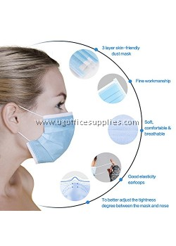 3 Ply Disposable Face Mask (50's)