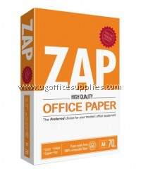 ZAP 70gsm A4 Paper (500 sheets)