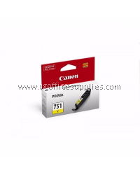 CANON CLI-751Y YELLOW ORIGINAL INK CARTRIDGE