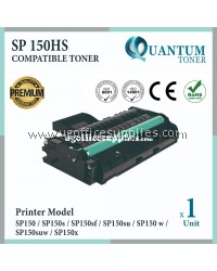Ricoh Aficio SP150HS / SP150 High Quality High Yield Compatible Laser Toner Cartridge For Ricoh Aficio SP150 / SP150s / SP150sf / SP150su / SP150suw / SP150w / SP150x Printer Ink