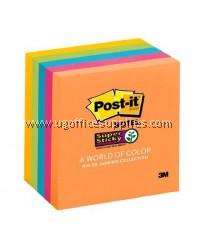 """3M Removable Post-it Note 3"""" x 3"""" (5 Neon Colour)"""