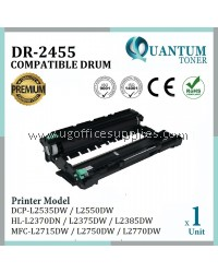 Brother DR-2455 DR2455 DR730 High Quality Compatible Drum Kit for Brother DCP L2550DW / HL L2535DW / HL L2370DN / HL L2375DW / HL L2358DW / MFC L2715DW / MFC L2750DW / MFC L2770DW DRUM ONLY