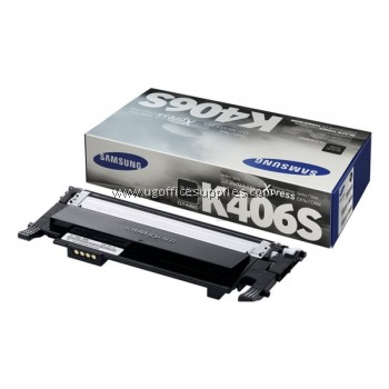 SAMSUNG CLT-K406 ORIGINAL BLACK TONER CARTRIDGE (CLT-K406S) - COMPATIBLE TO SAMSUNG PRINTER CLP-360