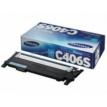 SAMSUNG CLT-C406 ORIGINAL CYAN TONER CARTRIDGE (CLT-C406S) - COMPATIBLE TO SAMSUNG PRINTER CLP-360
