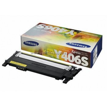 SAMSUNG CLT-Y406 ORIGINAL YELLOW TONER CARTRIDGE (CLT-Y406S) - COMPATIBLE TO SAMSUNG PRINTER CLP-360