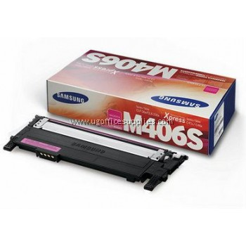 SAMSUNG CLT-M406 ORIGINAL MAGENTA TONER CARTRIDGE (CLT-M406S) - COMPATIBLE TO SAMSUNG PRINTER CLP-360