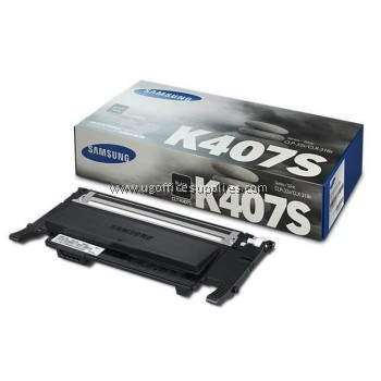 SAMSUNG CLT-K407 ORIGINAL BLACK TONER CARTRIDGE (CLT-K407S) - COMPATIBLE TO SAMSUNG PRINTER CLP-320