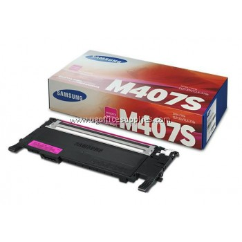 SAMSUNG CLT-407 ORIGINAL MAGENTA TONER CARTRIDGE (CLT-M407S) - COMPATIBLE TO SAMSUNG PRINTER CLP-320