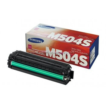 SAMSUNG CLT-504 ORIGINAL MAGENTA TONER CARTRIDGE (CLT-M504S) - COMPATIBLE TO SAMSUNG PRINTER CLP-470