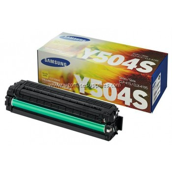 SAMSUNG CLT-504 ORIGINAL YELLOW TONER CARTRIDGE (CLT-Y504S) - COMPATIBLE TO SAMSUNG PRINTER CLP-470