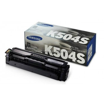 SAMSUNG CLT-504 ORIGINAL BLACK TONER CARTRIDGE (CLT-K504S) - COMPATIBLE TO SAMSUNG PRINTER CLP-470
