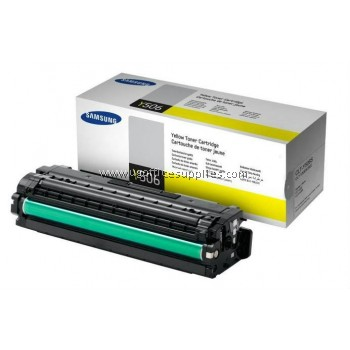 SAMSUNG CLT-Y506S ORIGINAL YELLOW TONER CARTRIDGE (CLT-Y506S) - COMPATIBLE WITH SAMSUNG CLP-680