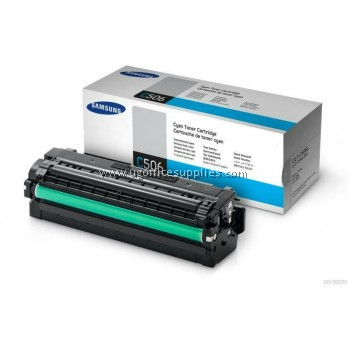 SAMSUNG CLT-C506L ORIGINAL CYAN TONER CARTRIDGE (CLT-C506L) - COMPATIBLE WITH SAMSUNG CLP-680