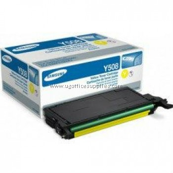 SAMSUNG CLT-Y508S ORIGINAL YELLOW TONER CARTRIDGE (CLT-Y508S) - COMPATIBLE WITH SAMSUNG CLP-620ND