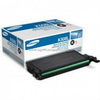 SAMSUNG CLT-K508L ORIGINAL BLACK TONER CARTRIDGE (CLT-K508L) - COMPATIBLE WITH SAMSUNG CLP-620ND