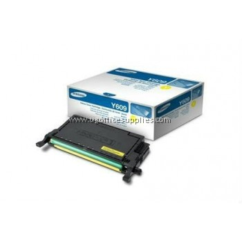 SAMSUNG CLT-Y609S ORIGINAL YELLOW TONER CARTRIDGE (CLT-Y609S) - COMPATIBLE WITH SAMSUNG CLP-770ND