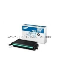 SAMSUNG CLP-K660A ORIGINAL BLACK TONER CARTRIDGE (CLP-K660A) - COMPATIBLE WITH SAMSUNG CLP-610ND