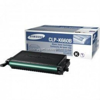 SAMSUNG CLP-K660B ORIGINAL BLACK TONER CARTRIDGE (CLP-K660B) - COMPATIBLE WITH SAMSUNG CLP-610