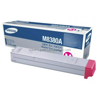 SAMSUNG CLX-M8380A ORIGINAL MAGENTA TONER CARTRIDGE (CLX-M8380A) - COMPATIBLE WITH SAMSUNG CLX-8380ND