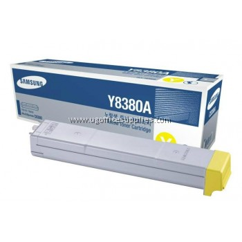 SAMSUNG CLX-Y8380A ORIGINAL YELLOW TONER CARTRIDGE (CLX-Y8380A) - COMPATIBLE WITH SAMSUNG CLX-8380ND