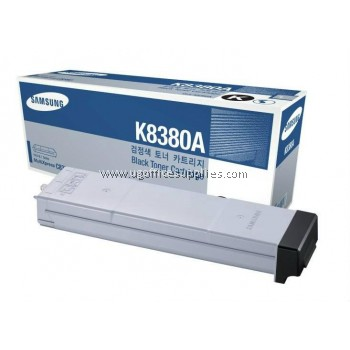 SAMSUNG CLX-K8380A ORIGINAL BLACK TONER CARTRIDGE (CLX-K8380A) - COMPATIBLE WITH SAMSUNG CLX-8380ND