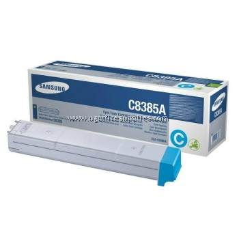 SAMSUNG CLX-C8385A ORIGINAL CYAN TONER CARTRIDGE (CLX-C8385A) - COMPATIBLE WITH SAMSUNG CLX-8385ND