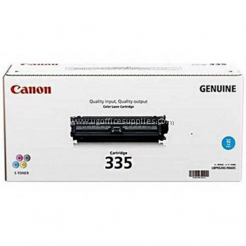 CANON 335 CYAN ORIGINAL  TONER CARTRIDGE