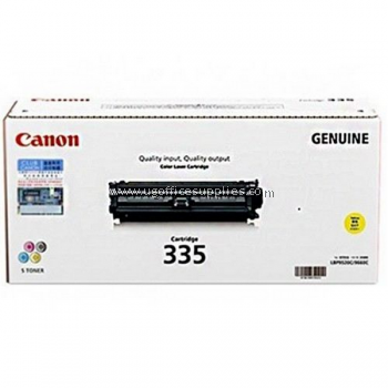 CANON 335 YELLOW TONER CARTRIDGE