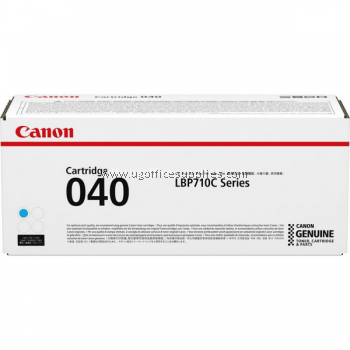 CANON 040 CYAN ORIGINAL TONER CARTRIDGE