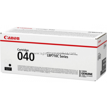 CANON 040 BLACK ORIGINAL TONER CARTRIDGE