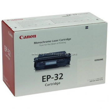 CANON EP-32 BLACK ORIGINAL MONOCHROME LASER CARTRIDGE