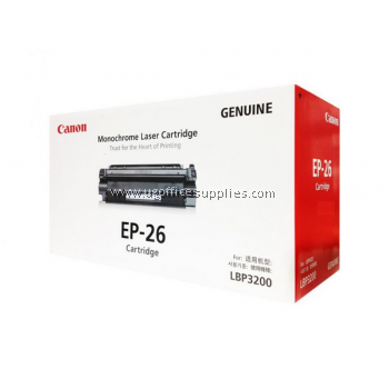 CANON EP-26 BLACK ORIGINAL MONOCHROME LASER CARTRIDGE