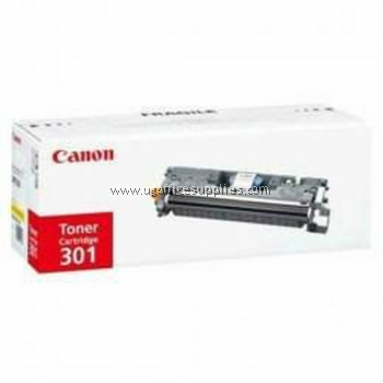 CANON 301 YELLOW ORIGINAL TONER CARTRIDGE