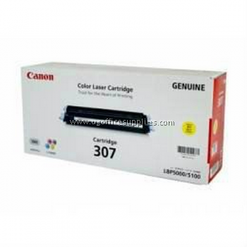 CANON 307 YELLOW ORIGINAL TONER CARTRIDGE