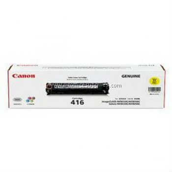CANON 416 YELLOW ORIGINAL TONER CARTRIDGE