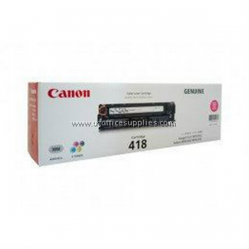 CANON 418 MAGENTA ORIGINAL TONER CARTRIDGE