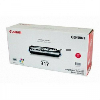 CANON 317 CYAN ORIGINAL TONER CARTRIDGE
