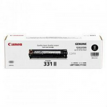 CANON 331 II BLACK ORIGINAL TONER CARTRIDGE