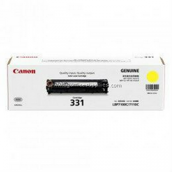 CANON 331 YELLOW ORIGINAL TONER CARTRIDGE