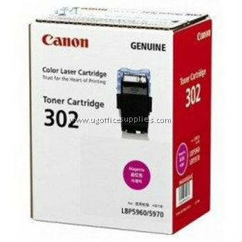CANON  302 MAGENTA ORIGINAL TONER CARTRIDGE