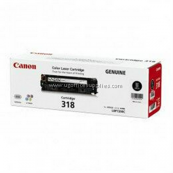 CANON 318 BLACK ORIGINAL TONER CARTRIDGE