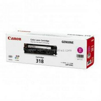 CANON  318 MAGENTA ORIGINAL TONER CARTRIDGE