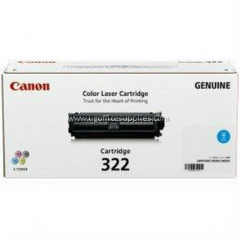 CANON  322 CYAN ORIGINAL TONER CARTRIDGE