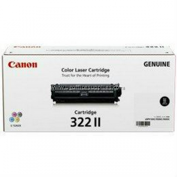 CANON 322 II BLACK ORIGINAL TONER CARTRIDGE