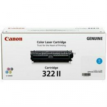 CANON  322 II CYAN ORIGINAL TONER CARTRIDGE