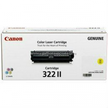 CANON  322 II YELLOW ORIGINAL TONER CARTRIDGE