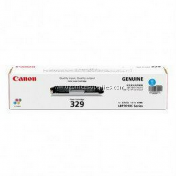 CANON  329 CYAN ORIGINAL TONER CARTRIDGE