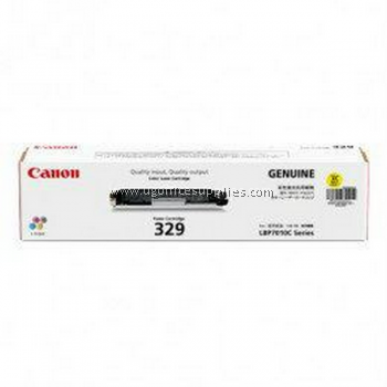 CANON  329 YELLOW ORIGINAL TONER CARTRIDGE