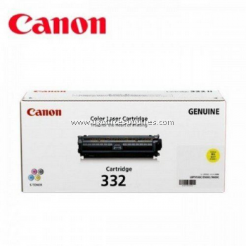 CANON 332 YELLOW ORIGINAL TONER CARTRIDGE